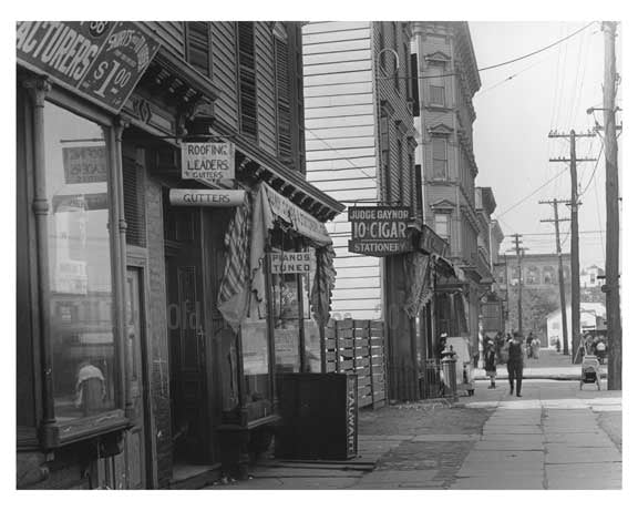 Devoe & Bushwick Avenue  - Williamsburg - Brooklyn, NY 1916 D2 Old Vintage Photos and Images