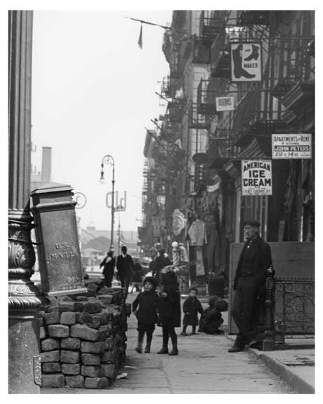 Devoe Street  - Williamsburg - Brooklyn, NY 1918 B Old Vintage Photos and Images