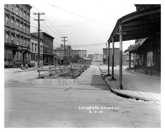 Devoe Street  - Williamsburg - Brooklyn, NY 1918 A Old Vintage Photos and Images