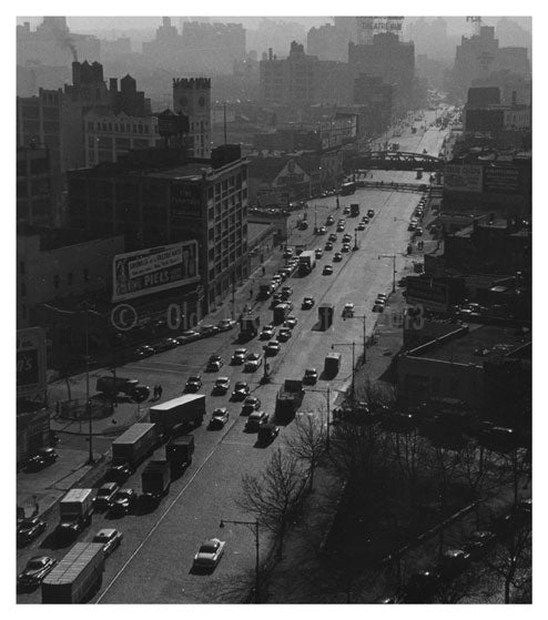 Downtown Brooklyn - Flatbush Ave Exstension - Brooklyn NY Old Vintage Photos and Images