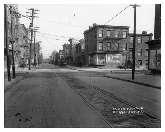 Driggs Ave - Williamsburg - Brooklyn, NY  1921 A Old Vintage Photos and Images