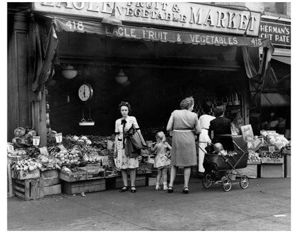 Eagle Fruit & Vegetable Market Old Vintage Photos and Images