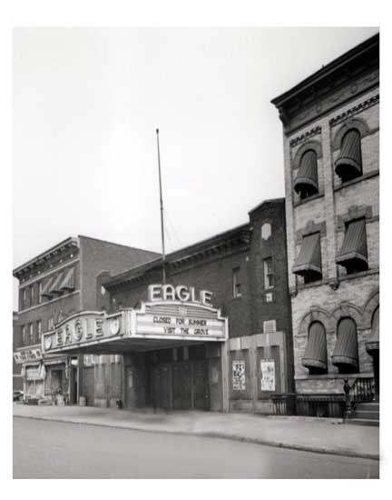 Eagle Theater Old Vintage Photos and Images