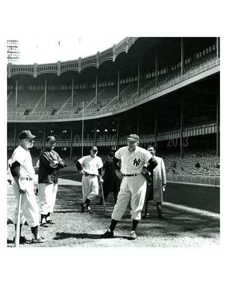 Early 1950's Yankees at Yankee Stadium