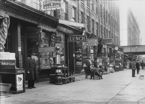 East 138th St. South Bronx 1913 Old Vintage Photos and Images