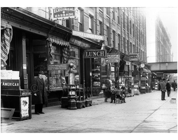 East 138th Street, South Bronx 1913 Old Vintage Photos and Images