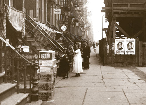 East 14th St. Manhattan 1918 Old Vintage Photos and Images