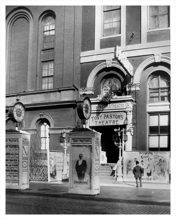 """Tony Pastors Theatre"" East 14th Street Old Vintage Photos and Images"