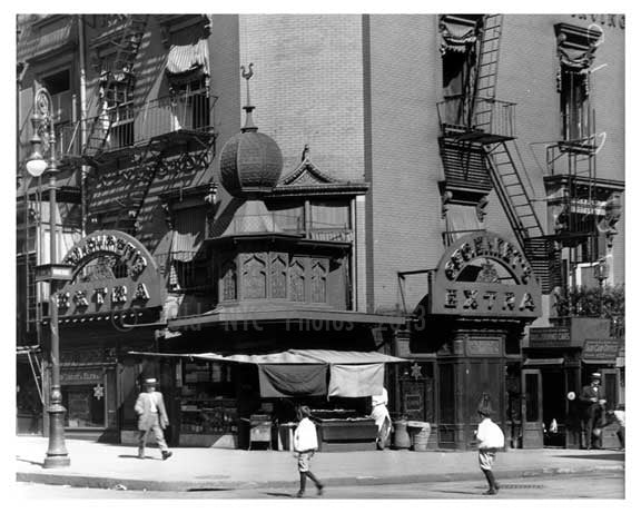 East 14th Street & Irving Place - East Village - Manhattan - New York, NY 1916 B Old Vintage Photos and Images