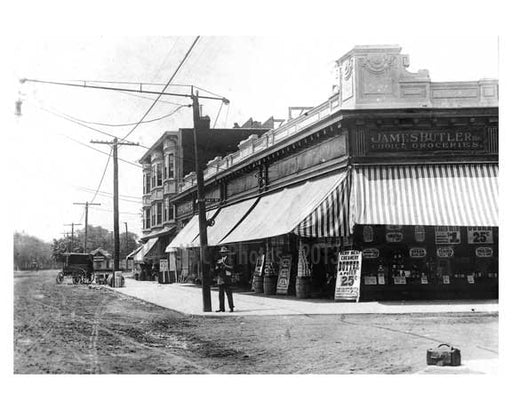 East 14th Street &  Kings Highway Gravesend Brooklyn NY 1909 Old Vintage Photos and Images