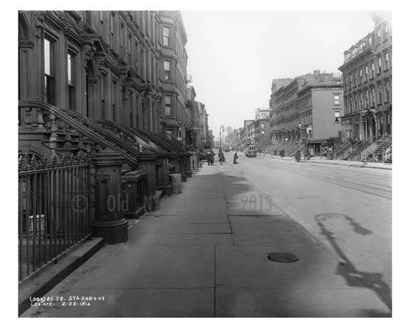 East 56th & Lexington Ave 1912 - Midtown Manhattan NYC A Old Vintage Photos and Images