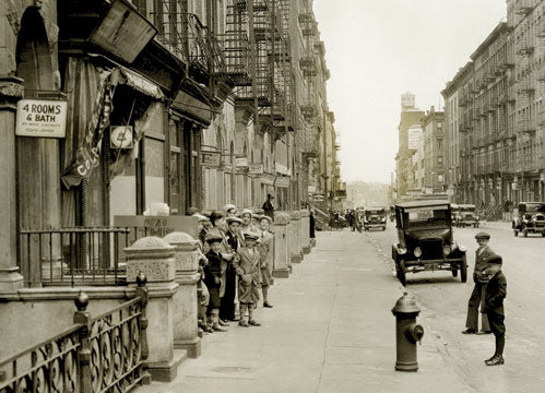 East 91 St. looking east near second Av. 1931 Old Vintage Photos and Images