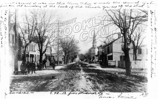 East 92nd Street looking south from Skidmore Lane, 1906 Old Vintage Photos and Images