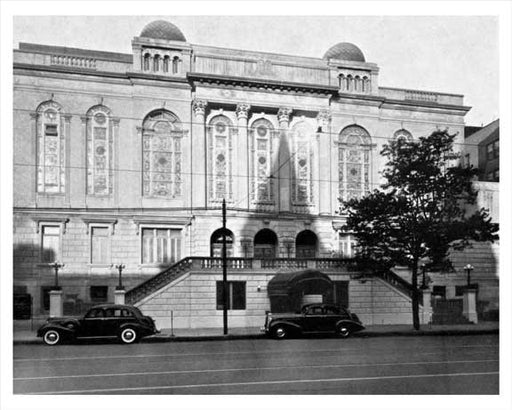 East Midwood Jewish Center  - Ocean Avenue - Midwood Brooklyn 1939 Old Vintage Photos and Images
