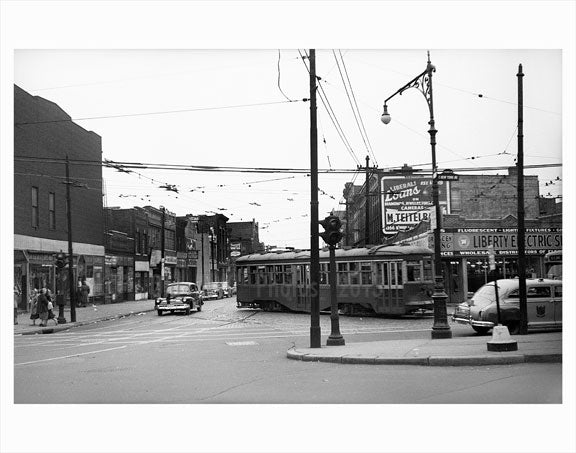 East New York Ave - Crown Heightts - Brooklyn NY Old Vintage Photos and Images