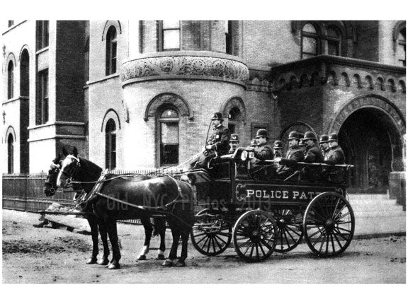 East New York police Old Vintage Photos and Images