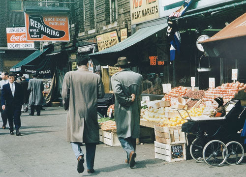 East Williamsbridge Road Bronx Shopping district 1950s Old Vintage Photos and Images