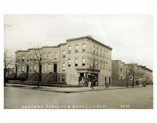 Eastern Parkway & Brooklyn Ave Old Vintage Photos and Images