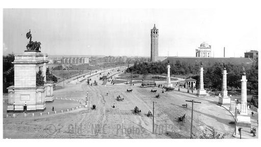 Eastern Parkway & Grand Army Plaza 1906 Flatbush Ave Line Old Vintage Photos and Images