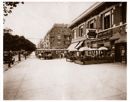 Eastern PKY & Franklin Ave. 1920s Old Vintage Photos and Images