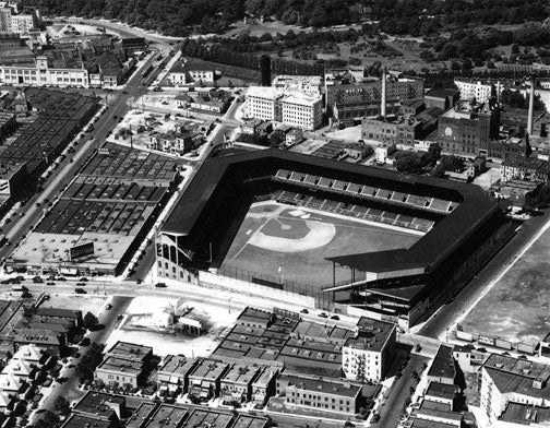Ebbets Field Aerial Shot 1930s