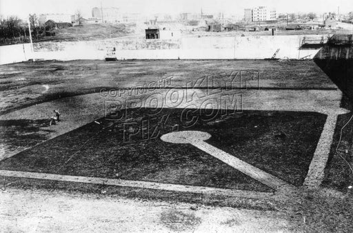 Ebbets Field under construction, 1912 Old Vintage Photos and Images
