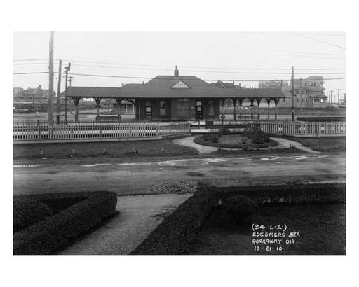Edgemere Station 1910 - Rockaway Queens NY Old Vintage Photos and Images