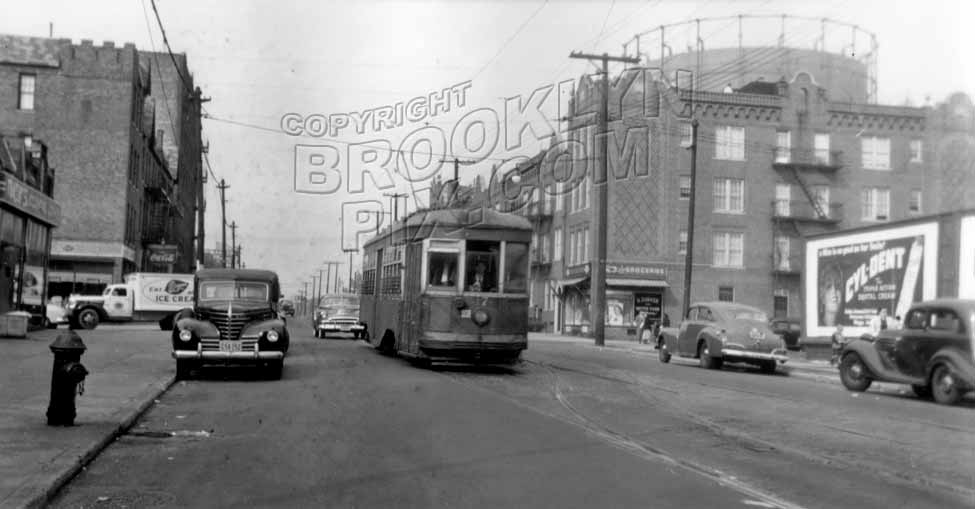 Eighth Avenue at 68th Street, 1947