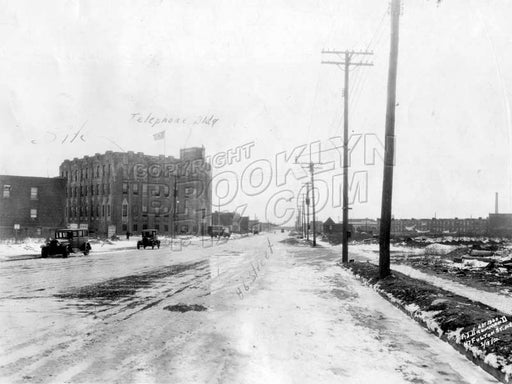 Eighty-sixth Street looking southeast from Avenue U, 1930 Old Vintage Photos and Images
