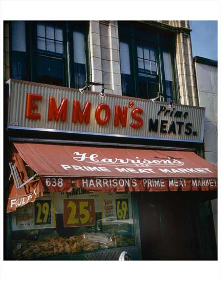 Emmon's Prime Meats Old Vintage Photos and Images