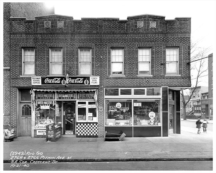 East New York Pitkin Avenue at Southeast Corner of Crescent Street 1940 Photos, Pictures and Images