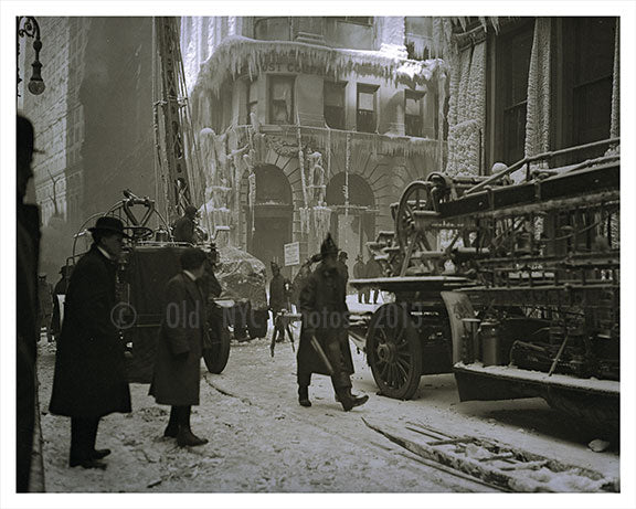 Equitable Fire Co. 1912 Financial District D Old Vintage Photos and Images