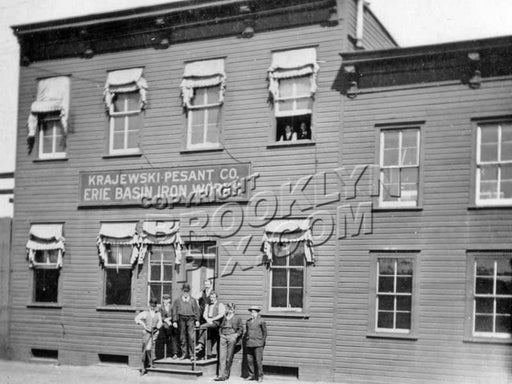 Erie Basin Iron Works, 1910 II Old Vintage Photos and Images