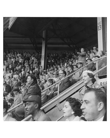 Fans at Ebbets Field