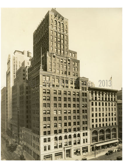 Farmers Loan & Trust Company Bldg 5th Avenue & & 41st Street 1926 B Old Vintage Photos and Images