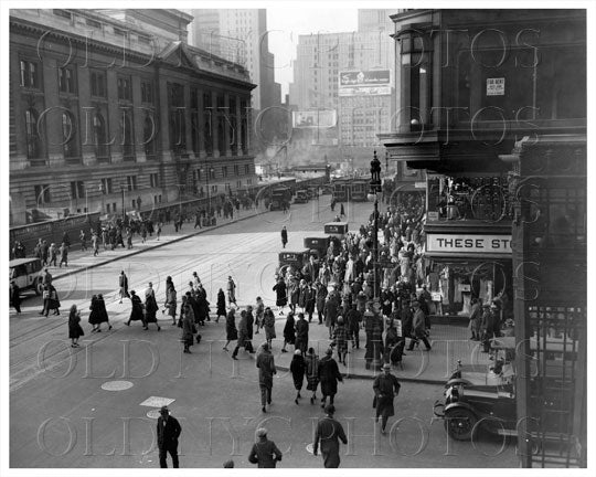 Fifth Ave Manhattan NYC 1935 Old Vintage Photos and Images