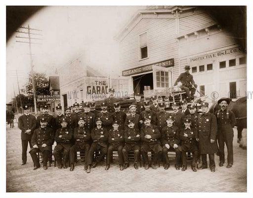 Firemen of Far Rockaway Queens Old Vintage Photos and Images