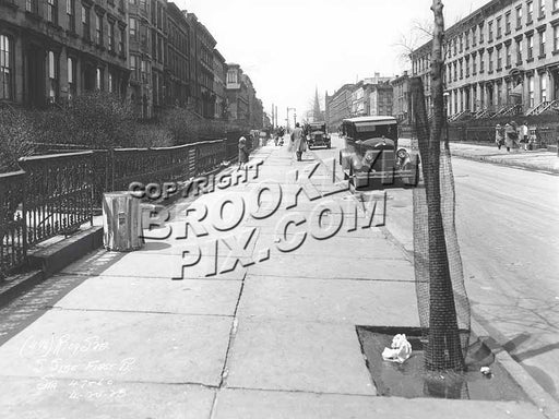 First Place, Carroll Gardens, 1928 Old Vintage Photos and Images