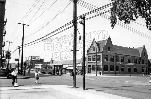 Flatbush and Flatlands Avenues, 1940 Old Vintage Photos and Images