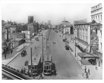 Flatbush Ave - Flatlands Brooklyn NY Old Vintage Photos and Images