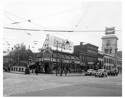 Flatbush Ave & Empire Blvd 2 Flatbush Brooklyn NY Old Vintage Photos and Images