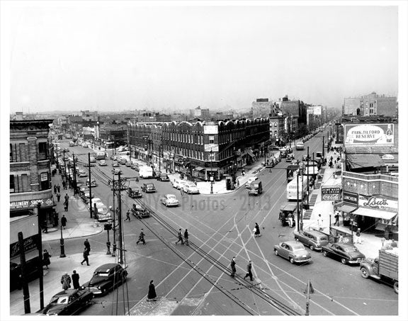 Flatbush Ave  intersection Old Vintage Photos and Images
