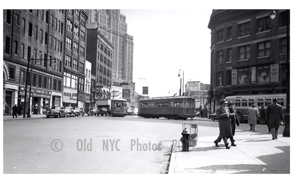 Flatbush Ave & livingston Street Old Vintage Photos and Images