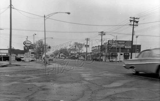 Flatbush Avenue looking south from East 53rd Street to Avenue U prior to Kings Plaza, 1964 Old Vintage Photos and Images