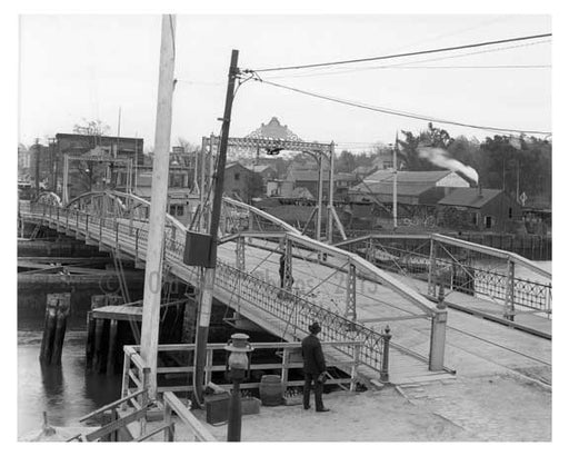 Flushing Creek Bridge - Flushing - Queens NY Old Vintage Photos and Images