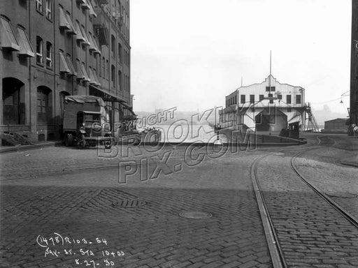Foot of Jay Street at East River, 1930 DUMBO Old Vintage Photos and Images