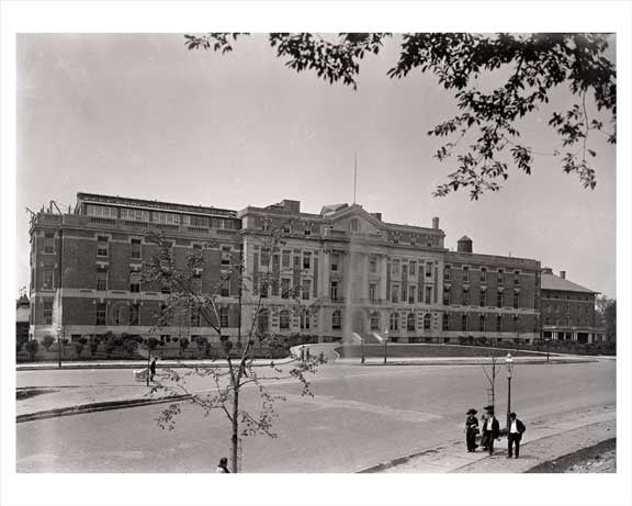 Fordham Hospital Bronx 1910 NYC Old Vintage Photos and Images