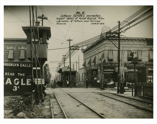 Forest Ave Station 1913 Old Vintage Photos and Images