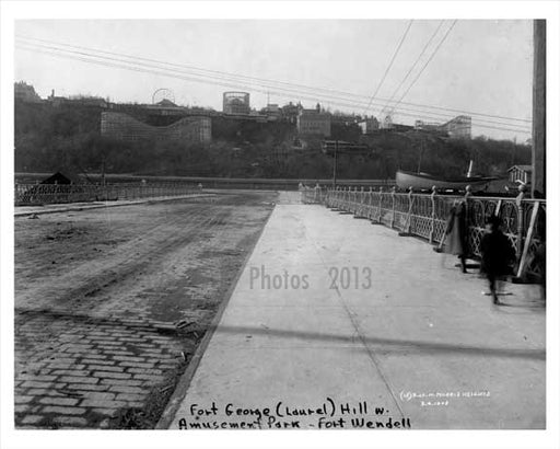 Fort George - Paradise Park Amusement - Morris Heights 1908 Bronx  NY Old Vintage Photos and Images