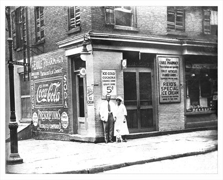 Fort Greene Hudson Avenue Vinegar Hill Black-owned Pharmacy 1930 Old Vintage Photos and Images
